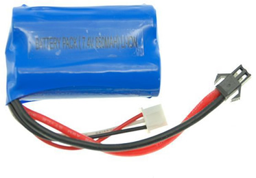 7.4v 850 mAh Li-ion Battery