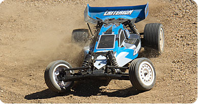 Criterion 10B 2wd Elec. Buggy 2016 Blue