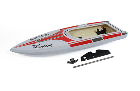 Painted Hull: Rivos - red