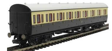 GWR, Collett 57' Bow Ended E131 Nine Compartment Composite (Right Hand), 6362
