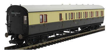 GWR, Collett 57' Bow Ended D98 Six Compartment Brake Third (Left Hand), 4971