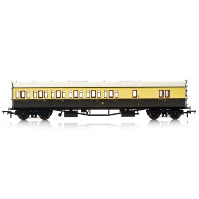 GWR, Collett 57' Bow Ended D98 Six Compartment Brake Third (Left Hand), 5503