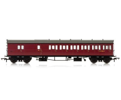 BR, Collett 57' Bow Ended D98 Six Compartment Brake Third (Right Hand), W5508W