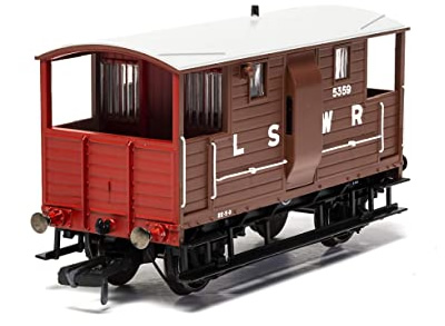 LSWR, 20T 'New Van' Goods Brake Van, 9646 - Era 2