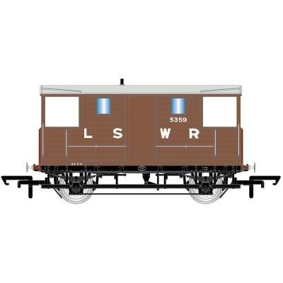 LSWR, 20T 'New Van' Goods Brake Van, 5359 - Era 2
