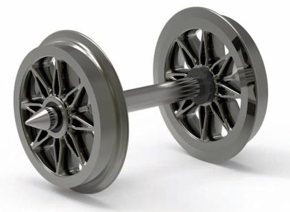 Split Spoked Wheels - 10 Pack