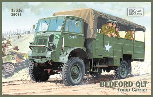 1/35 Bedford QLT Troop Carrier Truck