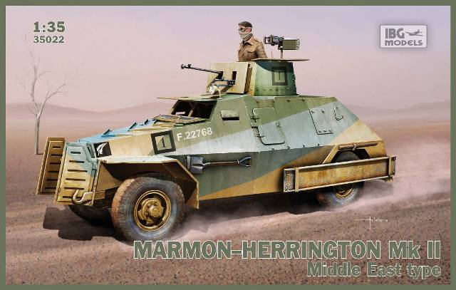 1/35 Marmon-Herrington Mk II Middle East
