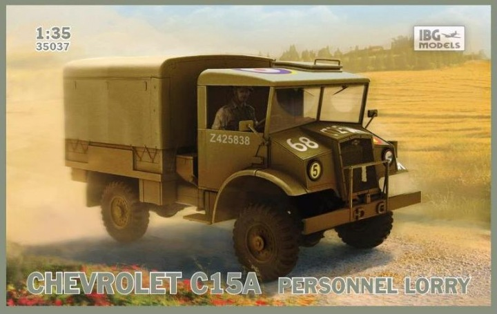 1/35 Chevrolet C15A Personnel lorry