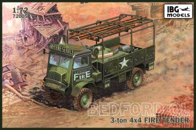 1/72 Bedford QLR 4x4 Fire Tender
