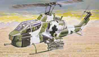 1/72 AH1W S/Cobra Helicopter