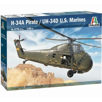 1/48 H-34A Pirate /UH-34D U.S. Marines