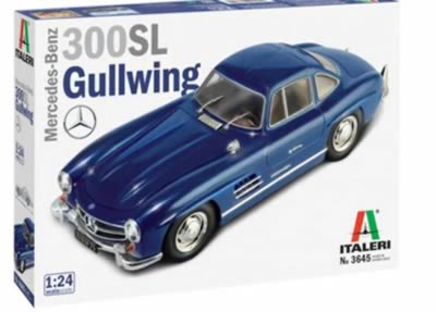 1/24 Mercedes Gull Wing