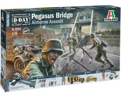 1/72 Pegasus Bridge - D.Day 75 Ann.1944-2019 - Battle Set