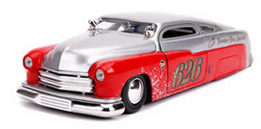 1/24 1951 Mercury Silver & Red No.626 Holley Bomber Bros Special
