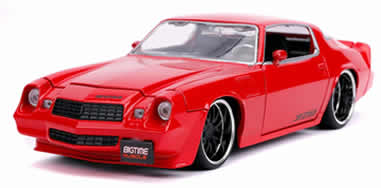 1/24 1979 Chevy Camaro Z28 Hardtop, Red