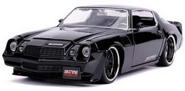 1/24 1979 Chevrolet Camaro Z28, Gloss Black