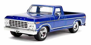 1/24 1979 Ford F-150 Pickup Truck Stock Candy Blue