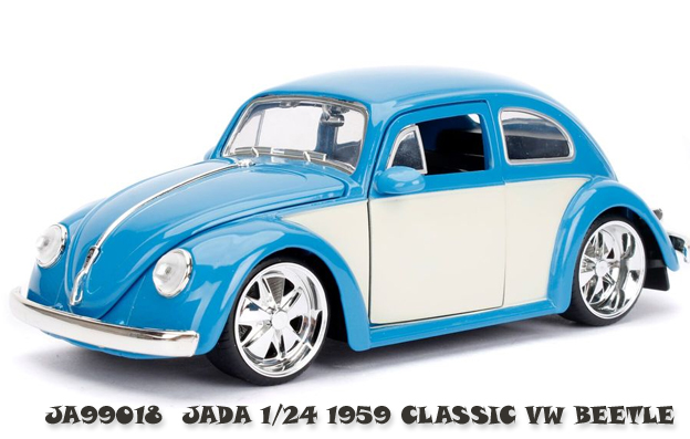 /24 1959 Volkswagen Beetle Light Blue & Cream