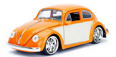 1/24 1959 Volkswagen Beetle Orange & Cream