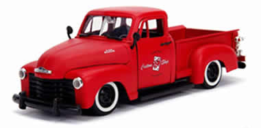 1/24 1953 Chevrolet 3100 Pickup Truck Matt Red