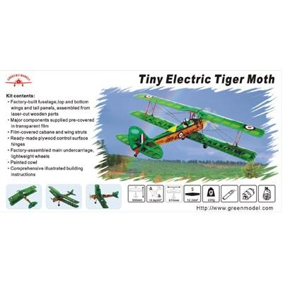 Tiger Moth Carbon with Brushless Motor and 3 Micro Servos
