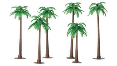 Palm Trees (6 piece)