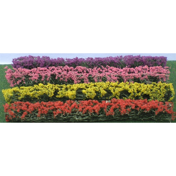 Flower Hedges, 4 Colours 5x3/8x8' (8)