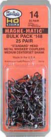 #148 Whisker Knuckle Coupler (50 pieces)
