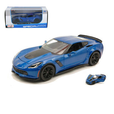 1/24 -1/27 2015 Corvette 206 Blue Special Edtion