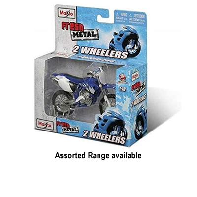 1/18 Assorted Motorcycles