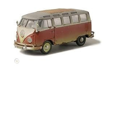 1/24 Old Friends - VW Van Samba Bus