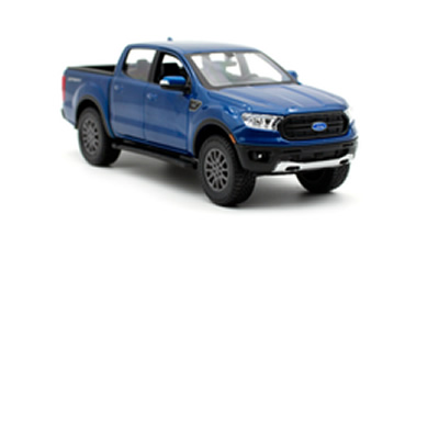 1/27 2017 Chevrolet Colorado ZR2 Blue