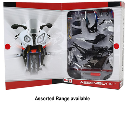 1/12 Assembly Line Motorcycle (Assorted)