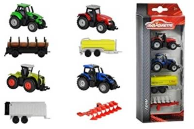 Majorette Farm 4pc Set