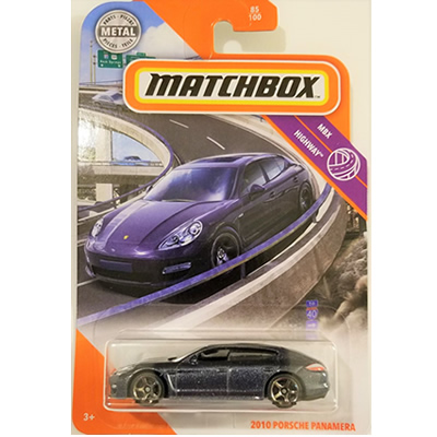 #85 2010 Porsche Panamera - metallic grey
