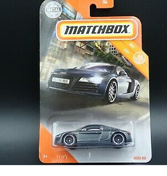#29 Audi R8 - Metallic Grey