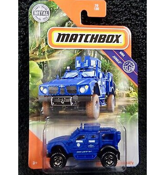 #70 Oshkosh Defense M-ATV - dark blue