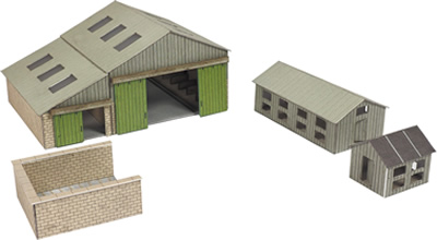 N Manor Farm Buildings kit