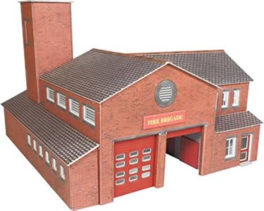OO Fire Station Kit