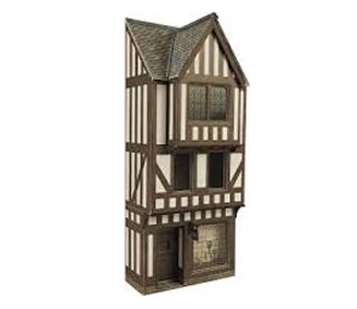 OO/HO Low Relief Timber Framed Shop Kit