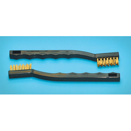 Brass Bristle Brush (2 pce)