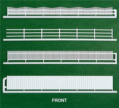 HO 20pce Fencing Assortment, 4 Styles