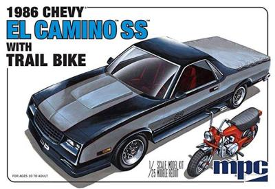 1/25 Chevrolet El Camino SS with Dirt Bike