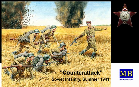 1/35 Counterattack Soviet Infantry Summer 1941 (6)