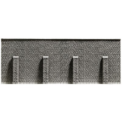 Retaining Wall, extra Lge 39.6 x 7.4cm