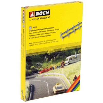 Crash Barriers & Road Posts HO