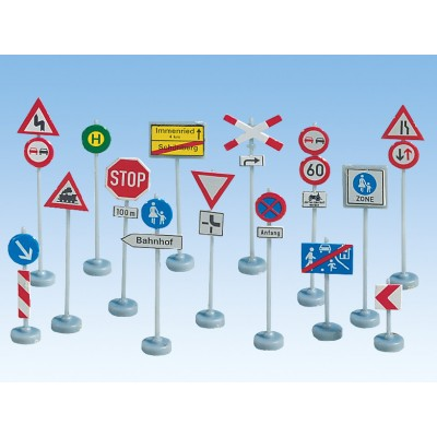 Assorted Traffic Signs HO
