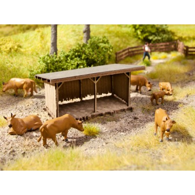 HO Scenery Set - Animal Shelter