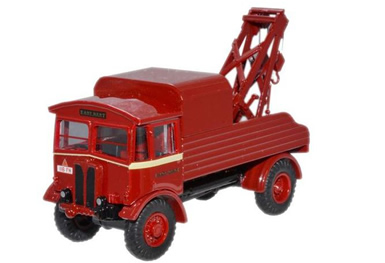 1/76 AEC Matador Wrecker - red